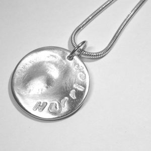 Large fingerprint charm